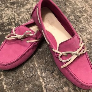 Cole Haan Suede Driving Moccasins 6.5 Lavender